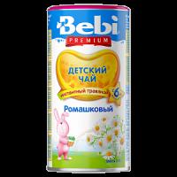 Детский чай Bebi Premium ромашковый, инстантный, с 6 месяцев, 200 гр