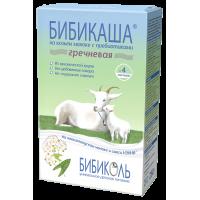 Каша БИБИКОЛЬ гречневая на козьем молоке «Бибикаша», с 4 месяцев, 200 гр
