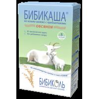 Каша БИБИКОЛЬ овсяная на козьем молоке «Бибикаша», с 5 месяцев, 200 гр