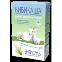Каша БИБИКОЛЬ рисовая на козьем молоке «Бибикаша», с 4 месяцев, 200 гр
