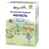 Детский чай Fleur Alpine травяной фенхель, c 1 месяца