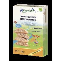 Детское печенье Fleur Alpine Organic натуральное растворимое, с 6 месяцев