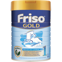 Молочная смесь Friso Gold 1, 0-6 мес., 800 гр.