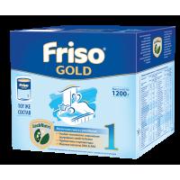 Молочная смесь Friso Gold 1, 0-6мес., 1200 гр.
