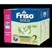 Молочная смесь Friso Gold 2, 6-12 мес., 1200 гр. (3*400 гр).