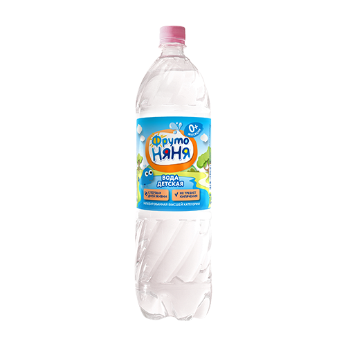 ФрутоНяня Детская вода высшей категории, 1,5 л