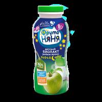 ФрутоНяня Биолакт с яблоком, с 8 месяцев, 200 гр