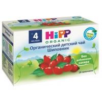 HIPP Чай детский органический шиповник, с 4 месяцев, 40 гр