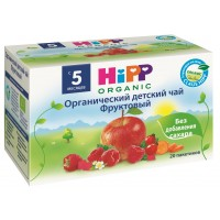 HIPP Чай детский органический фруктовый, с 5 месяцев, 40 гр