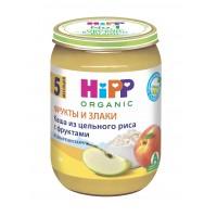HIPP Каша из цельного риса с фруктами, с 5 месяцев, 190 гр