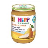 HIPP Пюре грушевое с зерновыми хлопьями, с 6 месяцев, 190 гр