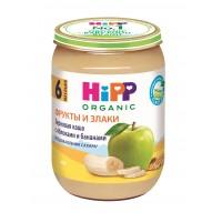 HIPP Зерновая каша с яблоками и бананами, с 6 месяцев, 190 гр