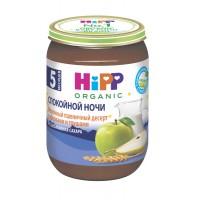 HIPP Молочный пшеничный десерт с яблоками и грушами, с 5 месяцев, 190 гр