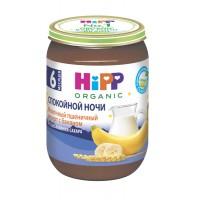 HIPP Молочный пшеничный десерт с бананом, с 6 месяцев, 190 гр