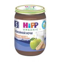 HIPP Молочный десерт с печеньем и яблоками, с 5 месяцев, 190 гр