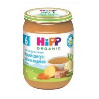 HIPP Овощной крем-суп с кабачком и индейкой, с 6 месяцев, 190 гр