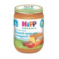 HIPP Овощной крем-суп с говядиной, с 6 месяцев, 190 гр