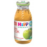 HIPP Сок яблочный мягкий, с 4 месяцев, 200 мл