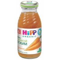 HIPP Сок морковный прямого отжима, с 4 месяцев, 200 мл