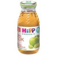 HIPP Сок яблочно-виноградный , с 6 месяцев, 200 мл