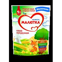 Каша Малютка кукурузная молочная, с 5 месяцев, 220 гр