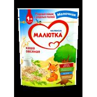 Каша Малютка овсяная молочная, с 5 месяцев, 220 гр