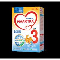 Детское молочко Малютка 3, с 12 месяцев, 300 гр