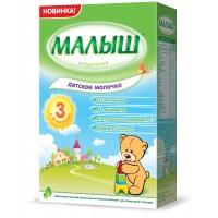 Детское молочко Малыш Истринский 3, с 12 месяцев, 350 гр