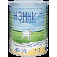 Смесь Бибиколь НЭННИ® 1 с пребиотиками, 0-6 мес., 400 гр