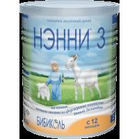 Молочный напиток НЭННИ 3, с 12 месяцев, 400 гр