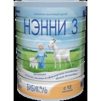 Молочный напиток НЭННИ 3, с 12 месяцев, 800 гр