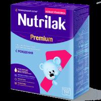 Молочная смесь Nutrilak Premium 1, 0-6 мес., 350 гр.
