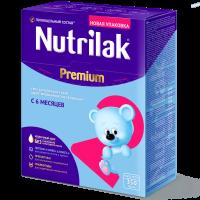 Молочная смесь Nutrilak Premium 2, 6-12 мес., 350 гр.