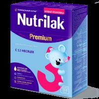 Молочный напиток Nutrilak Premium 3, с 12 месяцев, 350 гр.