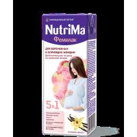 Напиток NutriMa Фемилак для беременных и кормящих женщин со вкусом ванили, 200 мл
