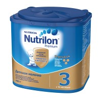 Детское молочко Nutrilon Premium 3, с 12 месяцев, 400 гр