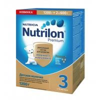Детское молочко Nutrilon Premium 3, с 12 месяцев, 1200 гр