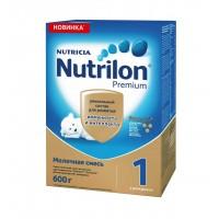 Смесь молочная Nutrilon Premium 1, с рождения, 600 гр